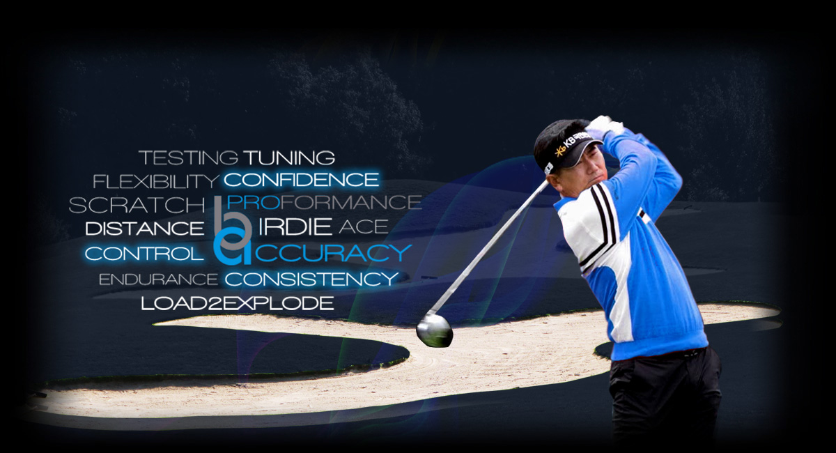 Golfer taking a swing for Biomechanics Advantage
